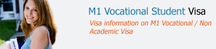 M1 Vocational Visa For Students
